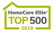 Logo for HomeCare Elite Top 500 2019