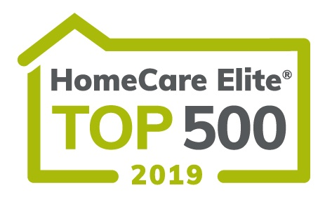 Logo for HomeCare Elite Top 500 2019