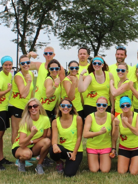 Ohioans Wins Health and Wellness Division at Dragon Boat Festival