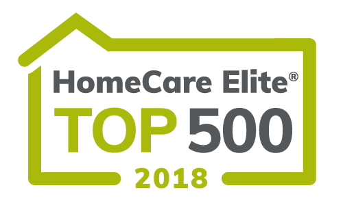Image of Ohioans HomeCare Elite Top 500 2018.